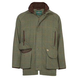 Alan Paine Combrook Waterproof Tweed Coat