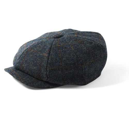 Failsworth Carloway Harris Tweed 8 Piece Cap