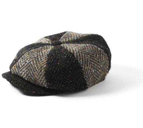 Failsworth Donegal Multi Tweed 8 Piece Cap