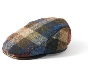 Failsworth Donegal Patch Tweed Flat Cap