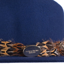 Hicks & Brown Suffolk Fedora - Pheasant Feather Wrap