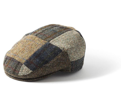Failsworth Patch Harris Tweed Flat Cap