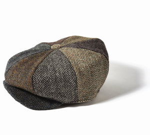 Failsworth Lewis Harris Tweed 8 Piece Cap