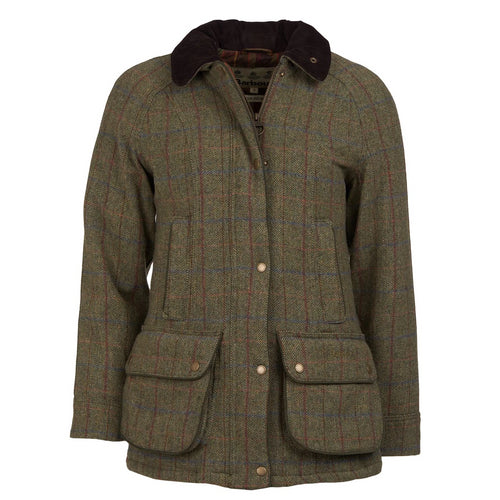 Barbour Women's Carter Waterproof Tweed