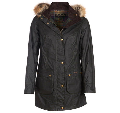 Barbour Women's Lightweight Nevis Wax Jacket