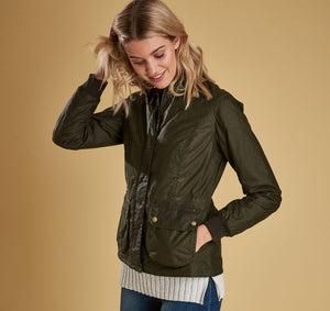 Barbour Women's Lightweight Norfolk Wax Jacket