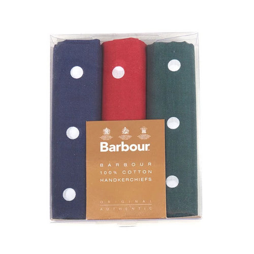 Barbour Spotted Handkerchiefs