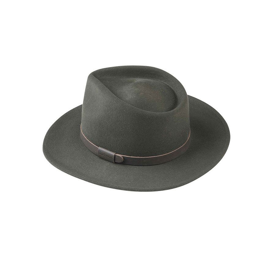 Barbour Crushable Bushman Felt Hat