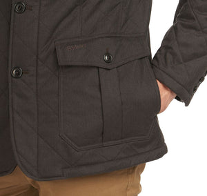 Barbour Rellond Polar Fleece Quilted Jacket