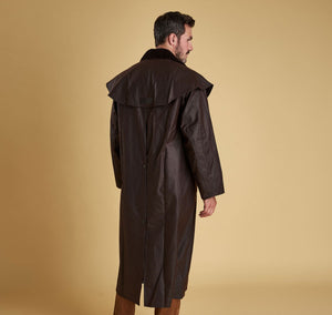 Barbour Stockman Wax Long Coat