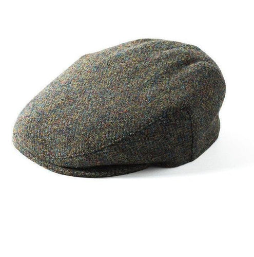 Failsworth Stornoway Harris Tweed Flat Cap