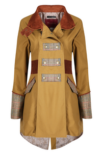 Welligogs Amber Wax Tweed Coat