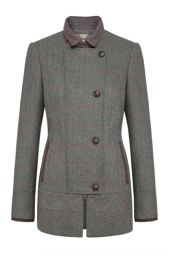 Dubarry Willow Tweed jacket moss