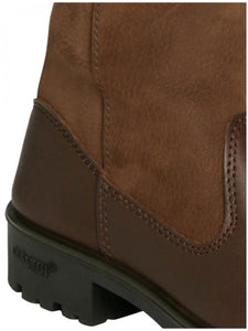 Dubarry Clare country boot heel