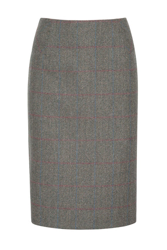 Dubarry Fern Tweed Knee-Length Skirt