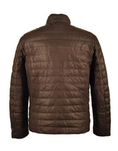 Leather Lightweight Down Jacket