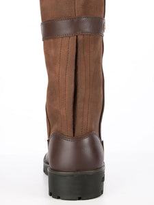 Dubarry Longford country boot back walnut