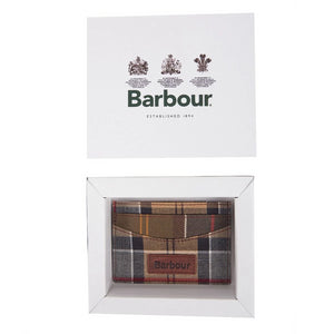 Barbour Mixed Tartan Cardholder Wallet