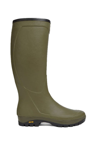Le Chameau Country Vibram Jersey Lined Boot