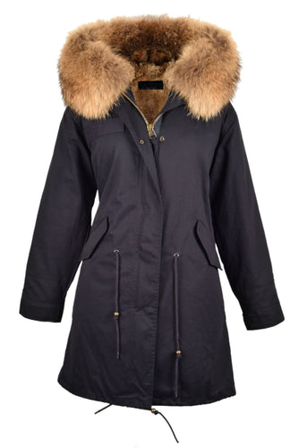 Popski 3/4 Length Fur-Lined Parka