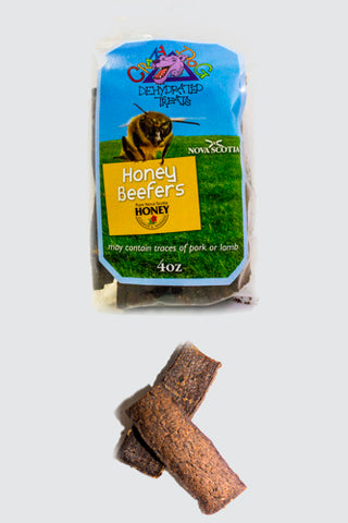 Crazy Dog Dehydrated Honey Beefer Treats