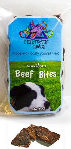Crazy Dog Dehydrated Beef Bite Treats