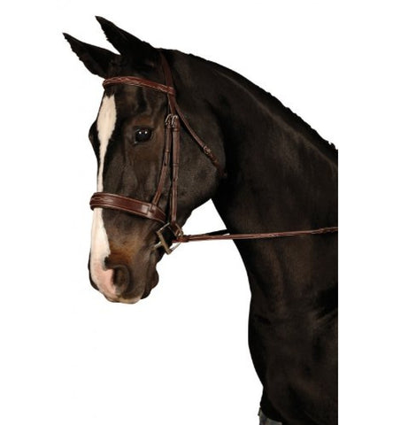 Sage Padded Wide Noseband Bridle