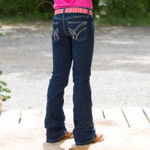 Girl's Wrangler Cowgirl Cut Ultimate Riding Jean