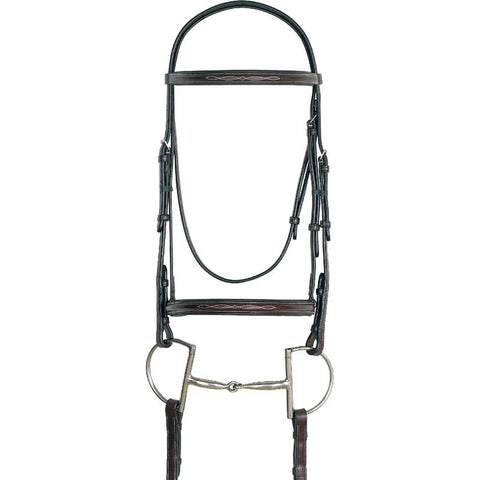 Sage Fancy Stitch English Bridle