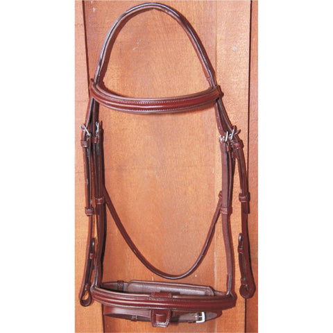 Sage Raised Padded Bridle