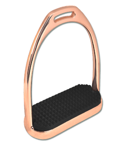 Waldhausen Rose Gold Stirrup Irons
