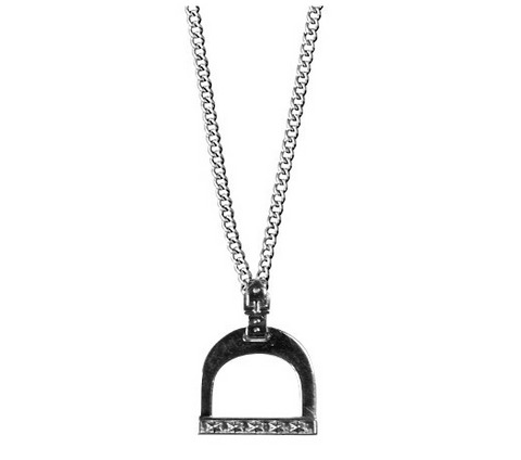 Luv Inspired Stirrup Necklace