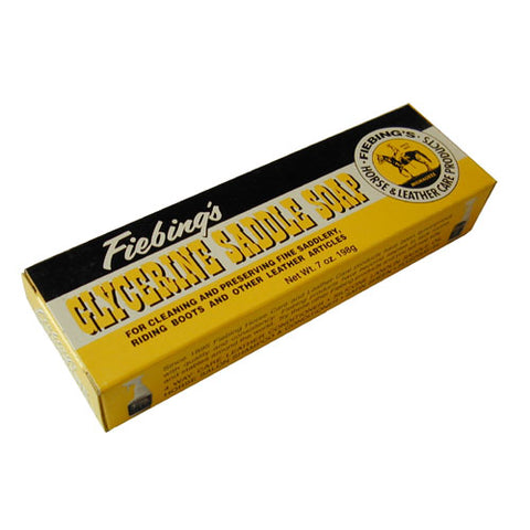 Fiebings Glycerin Saddle Soap Bar
