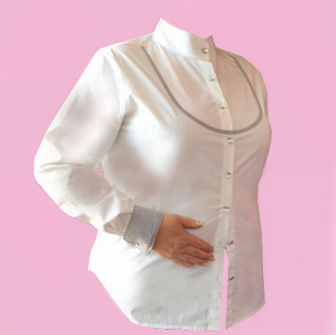 Fuller Fillies Bianco Show Shirt