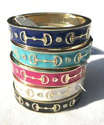 Snaffle Bit Bangle