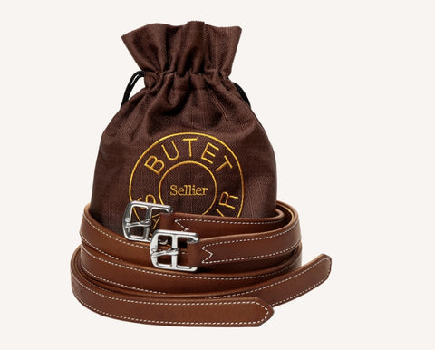 Butet Sellier Saumur Stirrup Leathers