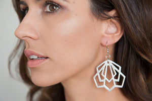 Deco Horn Earrings