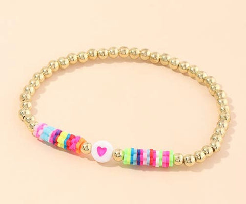 Rainbow Stretch Bracelet
