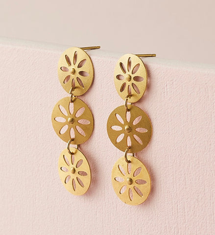 Chameli Earring - Petal Drop