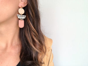Lola Grid Earrings