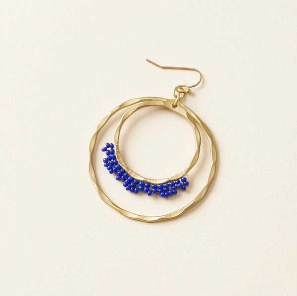 Kalapriya Earrings Blue