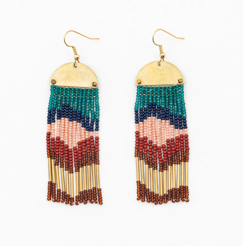 Half Moon Cascade Earrings