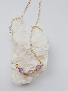 Holden Amethyst Necklace