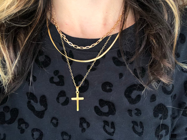 Stella Thick Chain Necklace