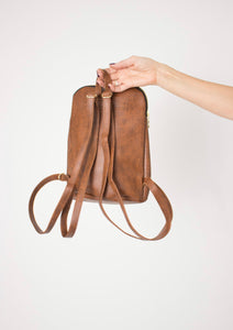 Mini Backpack - Brown