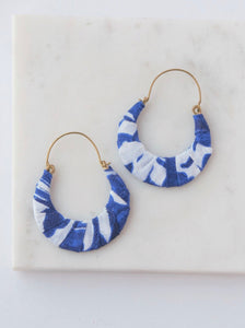 Upcycled Fabric Hoops