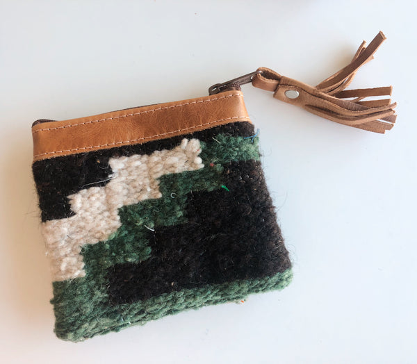 Woven Wool Pouch