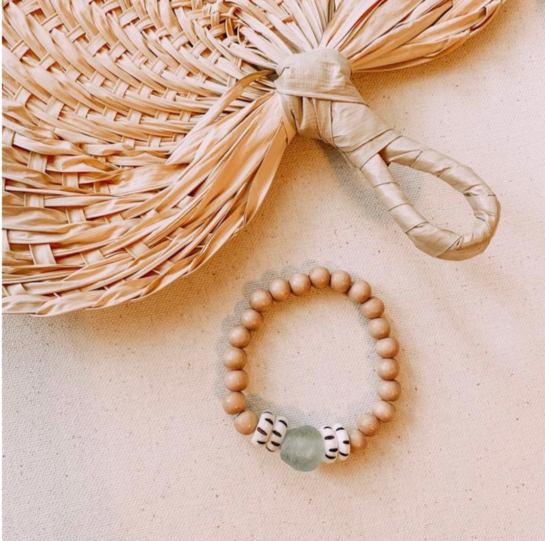 Recycled Collection Bracelet - Blush