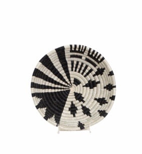 Black +White Fani Basket