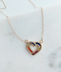 Wyatt Heart Necklace